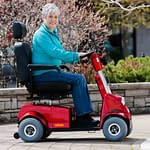 photo of women in wheelchair for the Lawtons website